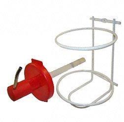 Preisvergleich Produktbild Set - 1x Spender und 1x Wandhalterung für Handreiniger: Aviatiocon - Extra Clean - (alte Ausführung: mit Schnappdeckel,  kein Gewinde vorhanden)
