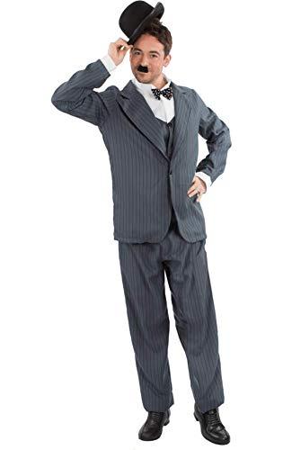 Herren Stan Laurel Oliver Hardy Film Karneval Verkleidung Kostüm Extra ()