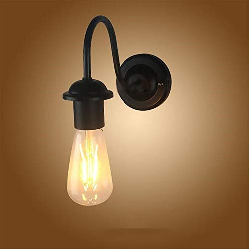 Diligent Loft Style Swing Arm Edison Wall Sconce Bedside Wall Lamp Iron Vintage Wall Light Fixtures For Home Indoor Lighting Lampara Dependable Performance Wall Lamps
