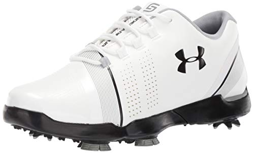 Under Armour Spieth 3 Jr, Chaussures de Golf garçon, Blanc...
