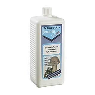 Brunnen Spezial PLUS 0,5 L: Kalk- und algenfreies Wasser für Zimmerbrunnen und Wasserspiele im Garten