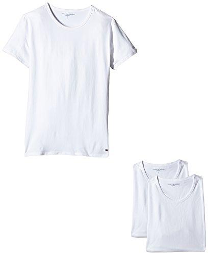 Tommy Hilfiger Herren T-shirt Cn Tee Ss 3er Pack Premium Essentials, (White 100), Xx-large (herstellergröße: Xx-large) (T-shirt Über Tee)