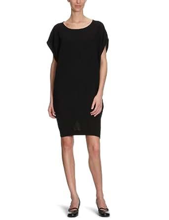 CK Calvin Klein Damen Kleid/ Knielang KWW300 FN500, Gr. 42 (IT 48), Schwarz (999)