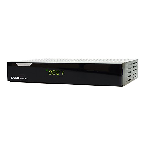 Edision argus piccollo 3in1 plus CI HD Triple Receiver Sat Kabel DVB-T (DVB-S2, DVB-C, DVB-T) schwarz