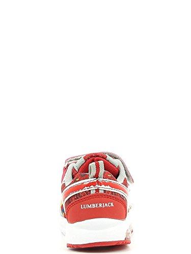 Lumberjack , Chaussons de gymnastique pour fille Rouge - Rosso