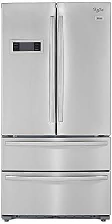 Whirlpool 570L Frost Free Multi-Door Refrigerator (702 French Door Bottom Mount, Stainless Steel, Inverter Compressor, Bottom Freezer)