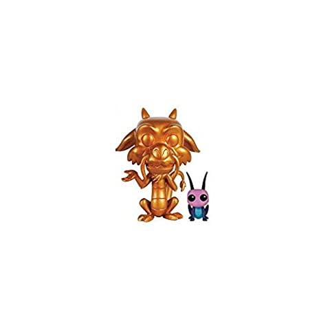 Funko - Pdf00005433 - Pop - Disney - Mulan - Mushu Et Criquet - Métallique Version 167 - Noir/Gris