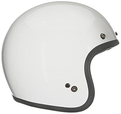 Bell Helmets 7050087 Street 2015 Custom 500 Adult Helmet, Solid Vintage White, Large