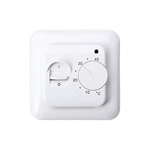 Raumthermostat Unterputz MST1, Thermostat-Schalter mit Fühler Raumregler -