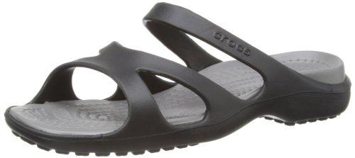 crocs Meleen 11853-28M-520, Scarpe chiuse non stringate Donna Nero (Black/Smoke)