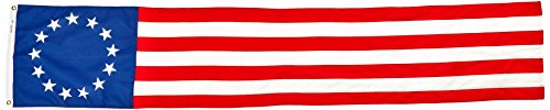 Valley Forge Flagge kolonial 13-star Poly Baumwolle 20von 2,4m Pull Down
