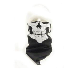 WAWO Neu Skeleton Schädel Bandana Snowboard Skifahren Motorrad Biking Rave Maske Paintball
