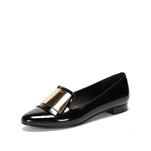 Ronde demi-deep orale Mesdames chaussures/Une pédale de chaussures de mode/Les souliers B
