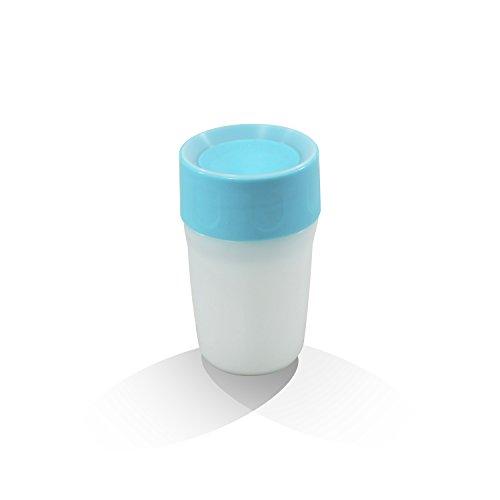 Litecup, leuchtender Trinkbecher für Kleinkinder, in Blau