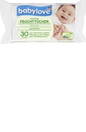 babylove Feuchttücher sensitive, 1 x 30 St