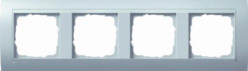 Preisvergleich Produktbild Gira 021436 Abdeckrahmen 4-fach für Event, alu