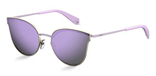 Polaroid Sonnenbrille für Damen und Herren - Polarisierte Gläser mit UV400-Schutz - Inklusive Einsteck-Etui und Mikrofasertuch Modell: 4056/S (3YGMF, 58)