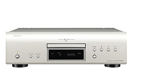 Denon DCD-1600NE HiFi CD player Plata - Unidad CD
