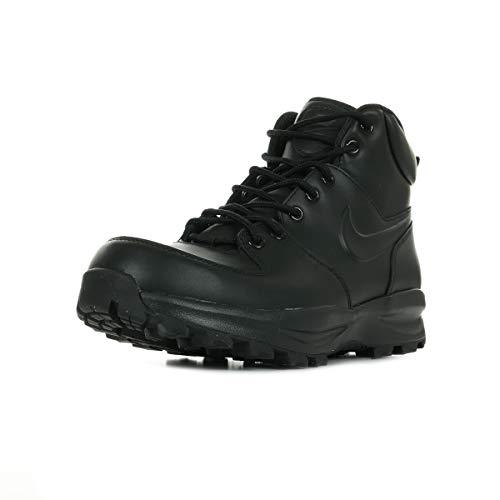 Nike - Manoa Leather Nero Scarponcini Scarpe Alte Uomo 454350 003-42, Nero 003