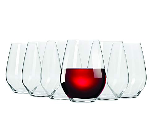 Maxwell & Williams - Juego de 6 vasos de vino tinto (540 ml)