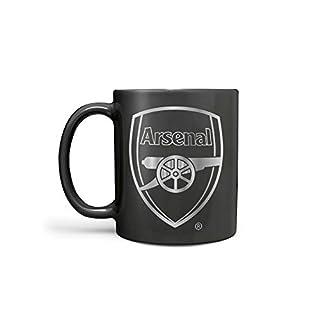 Arsenal F.C. Offizieller Fußball Clubs Schwarz reagieren 313ml Becher, Schwarz, 11oz