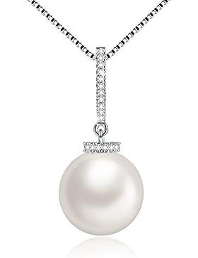 Klassischer Damen Perlenkette mi