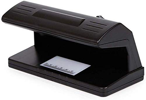 JFZCBXD Rivelatore dei Soldi con Righello Scala e ai Raggi UV Counterfeit Detection e contraffazione Free Detection per Dollaro, Euro, valuta estera, Overseas Passaporto