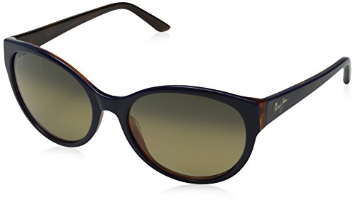 Maui Jim Venus Pools GS10002L 58mm Sunglasses New - Size: 58--19--140 - Color: Blue with Rootbeer Interior