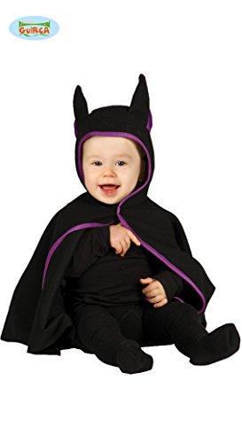 Baby Fledermaus Kostüm schwarz/lila (6-12 ()