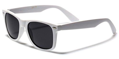 Boolavard Nerd Sonnenbrille im Wayfarer Stil Retro Vintage Unisex Brille - 45 Modelle wählbar...