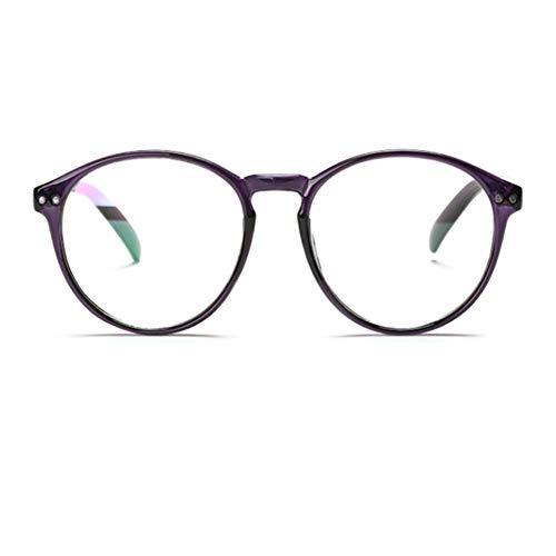 YUNCAT Hornbrille Atzenbrille Nerd Brille Klar Brille Nerdbrille in verschiedenen Farben