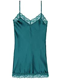 Amazon.fr   fond de robe - Vert   Combinaisons et jupons   Lingerie ... e709d9fae8ed