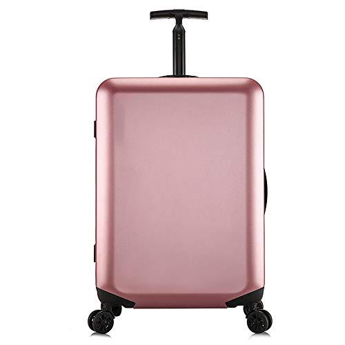 DEFfd Telaio universale per bagaglio password Fashion Fashion Pc Lever Imbarco da 18 pollici / 20 pollici / 24 pollici / 26 pollici (colore : Oro rosa, dimensioni : 20 inch)