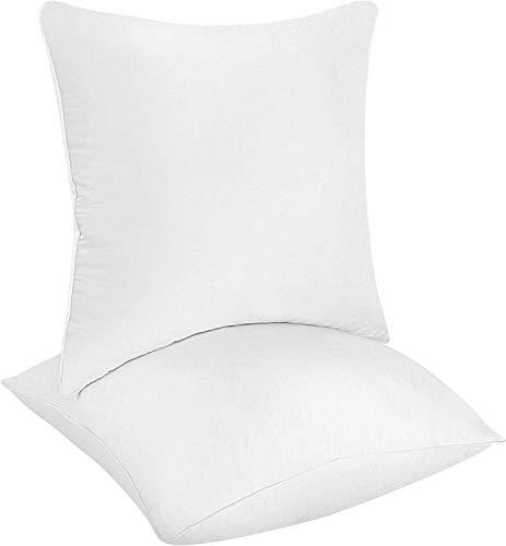 Utopia Bedding da Letto Decorativa Inserto Cuscino Quadrato Divano e Letto Cuscino Copri Microfibra Cuscini da Interno