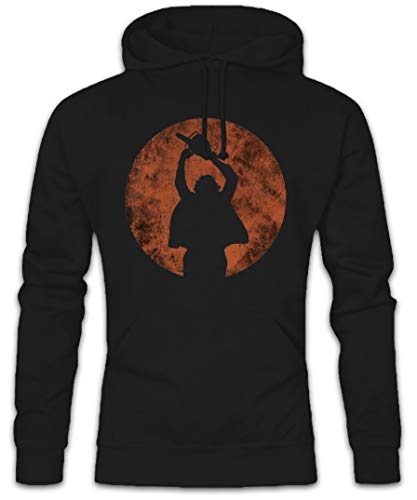 Urban Backwoods Chainsaw Man Hoodie Kapuzenpullover Sweatshirt - Kettensägen Massaker Texas Horror Movie Massacre Leatherface Mask Größen S - 5XL (Hoodie Texas Massacre Chainsaw)