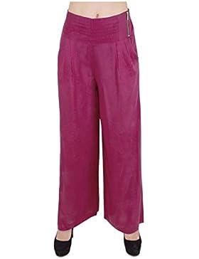 Indian Handicrfats Export Sweekash Regular Fit Women's Maroon Trousers