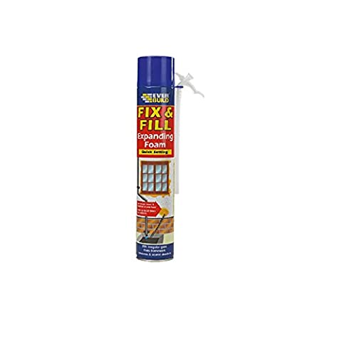 Everbuild EVFF5 Fill and Fix Expanding Foam 500ml