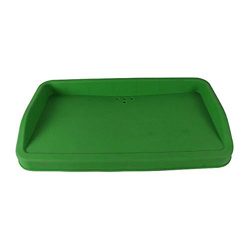 Golf Driving Range Tray, Golfballspender Silikonkautschuk Ball Box Material Halbautomatische 100 Bälle Trays Golfer Zubehör -