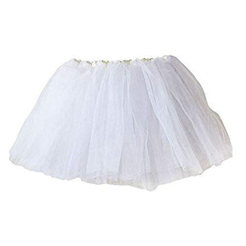 SUCES Tüllrock Mädchen, Ballett Röcke Tutu Rock Ballettrock Kinder Tüllrock für Party Prinzessin Kostüm Ballettrock Klassisch 2-7 Jahre Tanzbekleidung ()