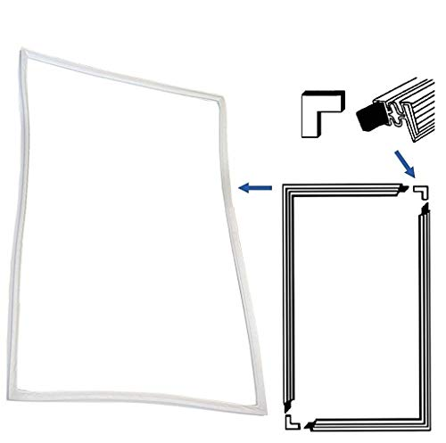 Guarnizione porta universale Guarnizione porta Set di guarnizioni porta Guarnizione magnetica 1300 x 700 mm Frigorifero