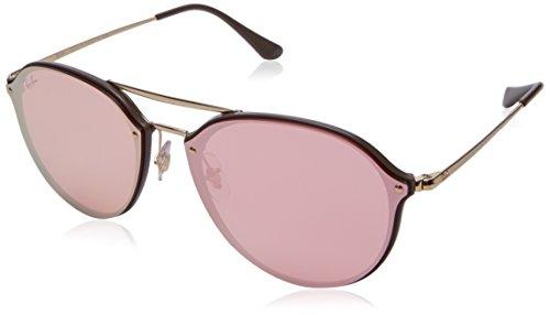 Ray-Ban RAYBAN Unisex-Erwachsene Sonnenbrille 0rb4292n 6327e4 62 Brown/Pinkmirrorpink