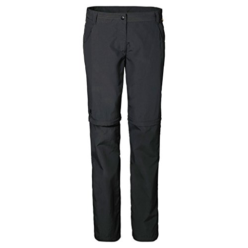 Jack Wolfskin Damen Hose Marrakech Zip Off Pants, Phantom, 80, 1501732-6350080 (Bekleidung Phantom)