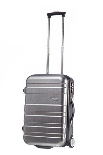 american-tourister-pasadena-upright-equipaje-de-cabina-negro-plateado-s-55cm-275l