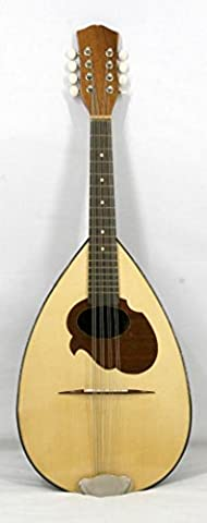 Musikalia Luthery ELECTRIFIED Neapolitan Mandola, in walnut, with inlaid scratchplate