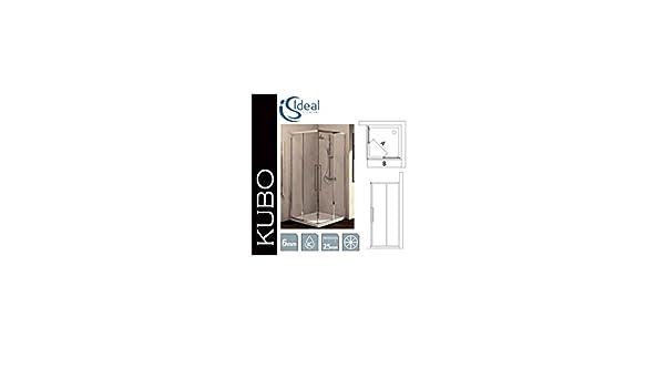 Kubo Box Doccia.Ideal Standard Kubo L 90 T7176 Fisso Tr Brill Amazon Co Uk