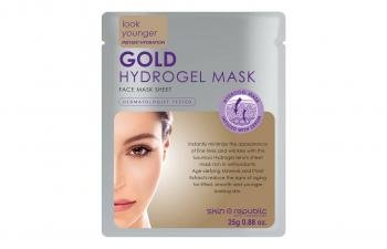 Skin Republic Look Younger Instant Hydration Gold Hydrogel Face Mask Sheet 25g by SKINREPUBL