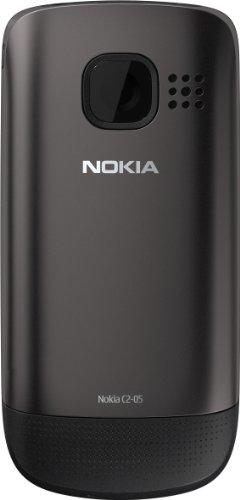 Zoom IMG-1 nokia c2 05 smartphone grigio