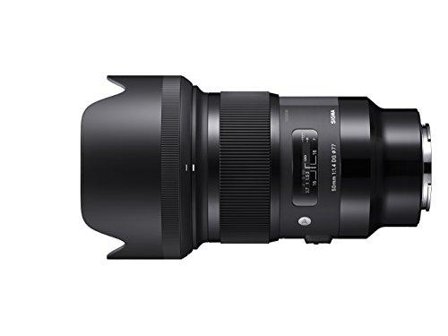 Sigma 50mm F1,4 DG HSM Art Objektiv (77 mm Filtergewinde) für Sony-E Objektivbajonett - Mm Sigma-objektiv 50