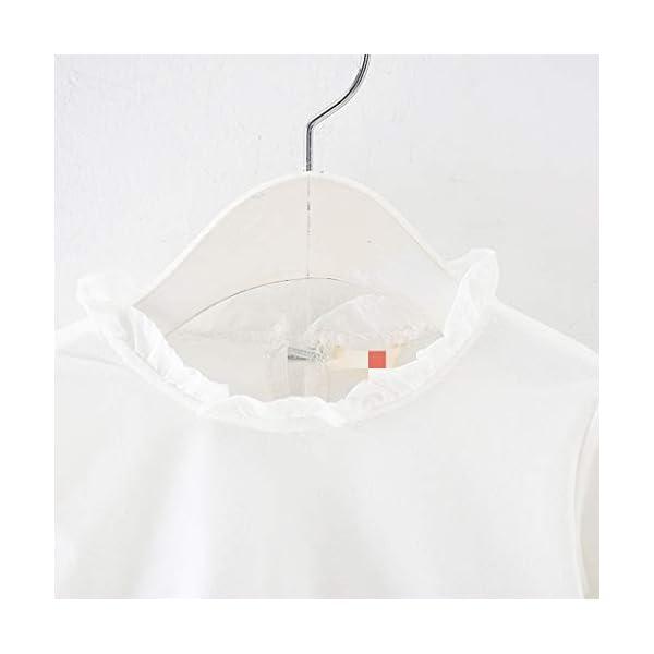 Heetey - Conjunto de Ropa y Abrigo para niña, con Volantes, Manga Larga, Vestido de Princesa + Chaqueta, Lazo, suéter… 4