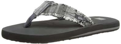 Quiksilver Mens Abyss M Thong Sandals EQYL100003 Grey/XSSK 41 EU/7 UK